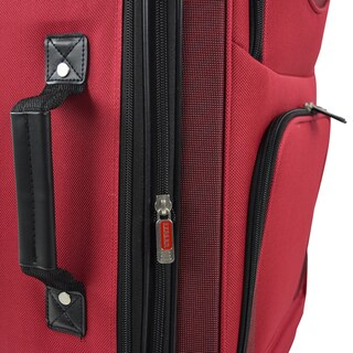 Traveler's Club Sky-View 2.0 3-piece Expandable Softside Spinner Luggage Set