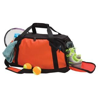 Goodhope Flex Fitness 21-nich Sports Duffel with Shoe Pockets (Option: Orange)