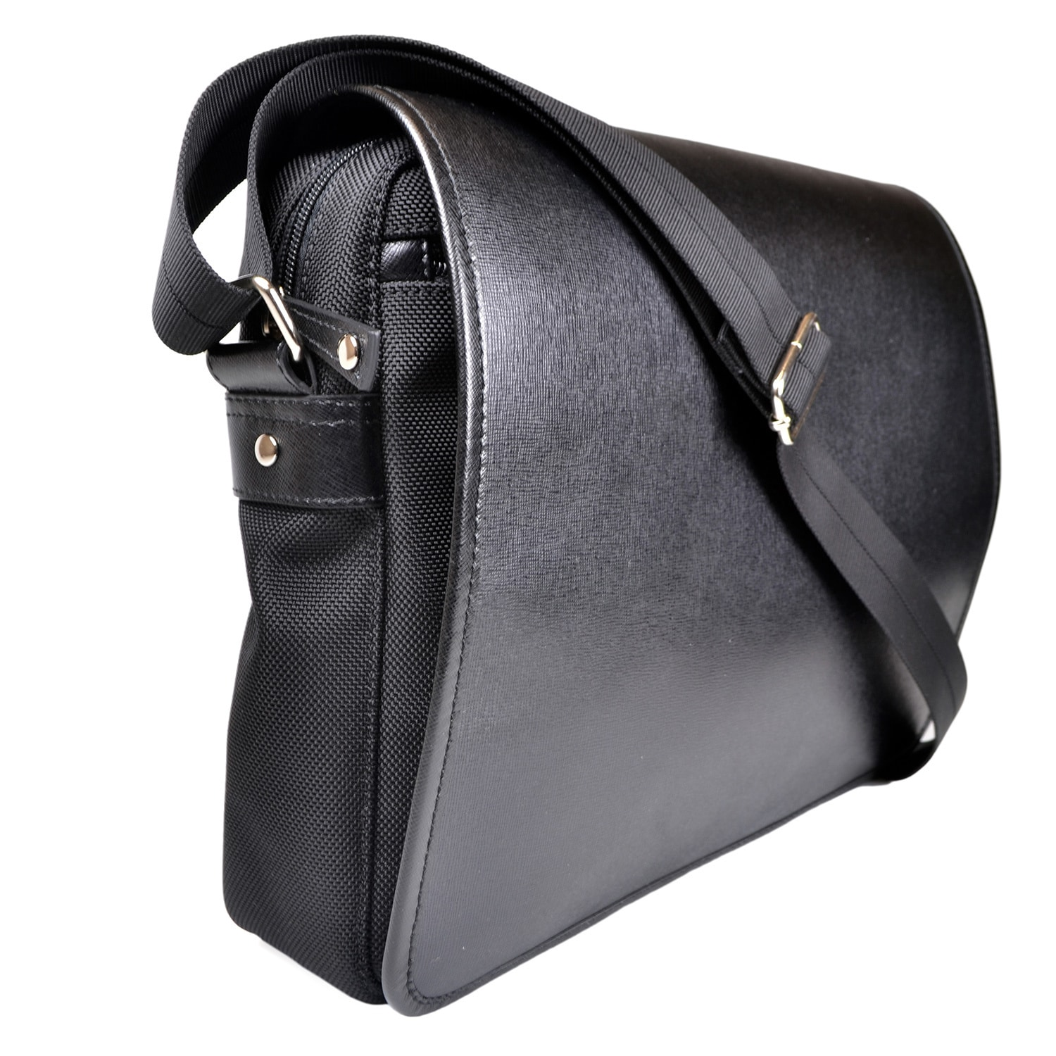 cdd34640669 Royce Leather Saffiano Leatherry Laptop Messenger Bag 794809055421 ...