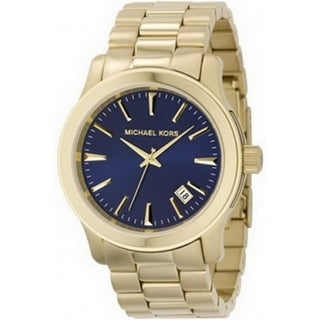 Michael Kors Men's Runway MK7049 Gold Stainless-Steel Quartz Watch