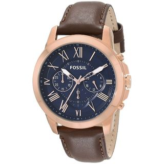 Fossil Men's Grant FS5068 Brown Leather Quartz Watch|https://ak1.ostkcdn.com/images/products/10459548/P17551334.jpg?_ostk_perf_=percv&impolicy=medium
