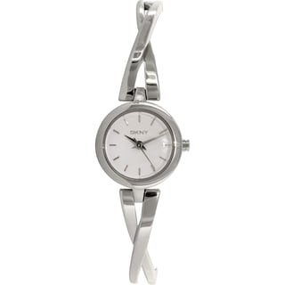 Dkny Women's Crosswalk NY2169 Silver Stainless-Steel Quartz Watch