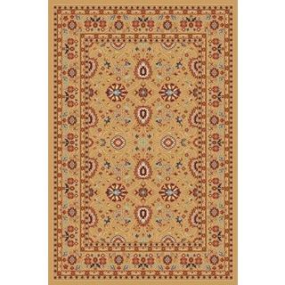Renaissance Berber Traditional Print Area Rug (5'3 x 7'7)