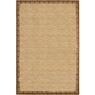 Renaissance Thin Border Area Rug (5'3 x 7'7)