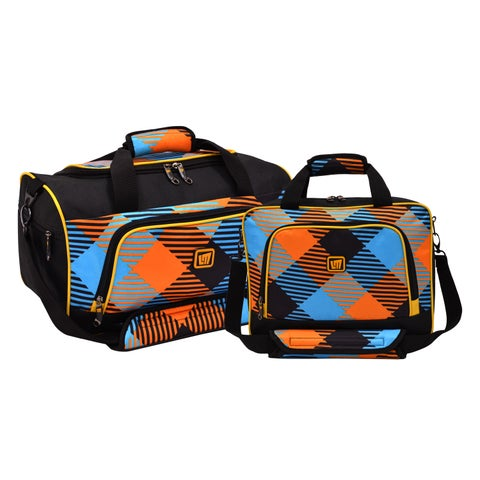 Loudmouth Microwave 2-piece Carry-on Duffel and Tote Bag Set