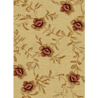 Renaissance Cream Floral Area Rug (2 x 3'11)