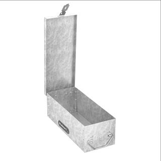 Stalwart Metal Storage Lock Box - 12 inch