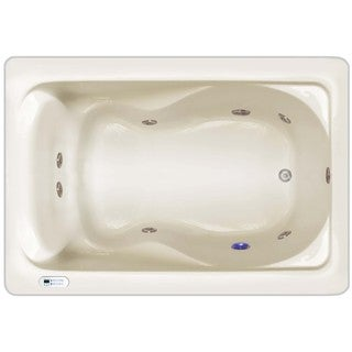 Home and Garden Spas 8-jet Luxury Whirlpool with LED Lighting