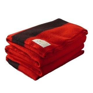 Woolrich Hudson's Bay 6-point Scarlet Blanket