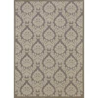 Rug Squared Montrose Silver Ivory Rug (7'6 x 9'6)
