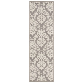 Rug Squared Montrose Silver Ivory Runner Rug (2'2 x 7')