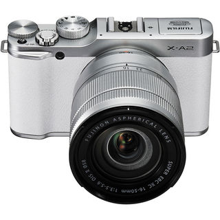 Fujifilm X-A2 Mirrorless Digital Camera with 16-50mm Lens (White)