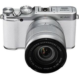 Fujifilm X-A2 Mirrorless Digital Camera with 16-50mm Lens (White)