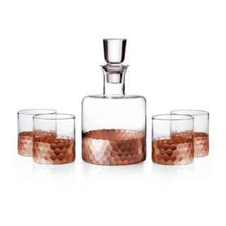 Fitz and Floyd Daphne 5-piece Whiskey Set