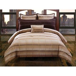 Martin Plaid 5-piece Comforter Set