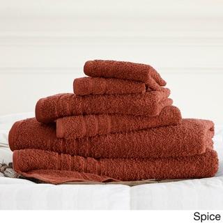 Cotton 6-piece Solid Towel Set