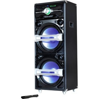 IQ Sound Speaker System - 250 W RMS - Wireless Speaker(s) - Black