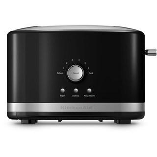 KitchenAid KMT2116OB Onyx Black 2-slice Metal Toaster with High Lift Lever