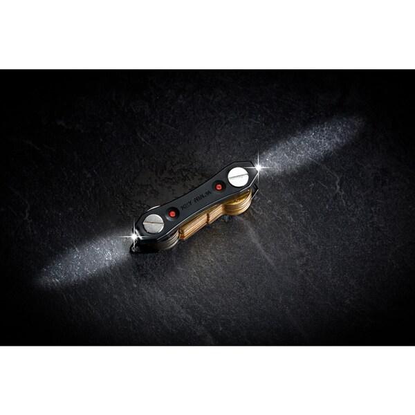 Key Holder Smart Ninja Compact Key chain Organizer LED Light Bottle Opener