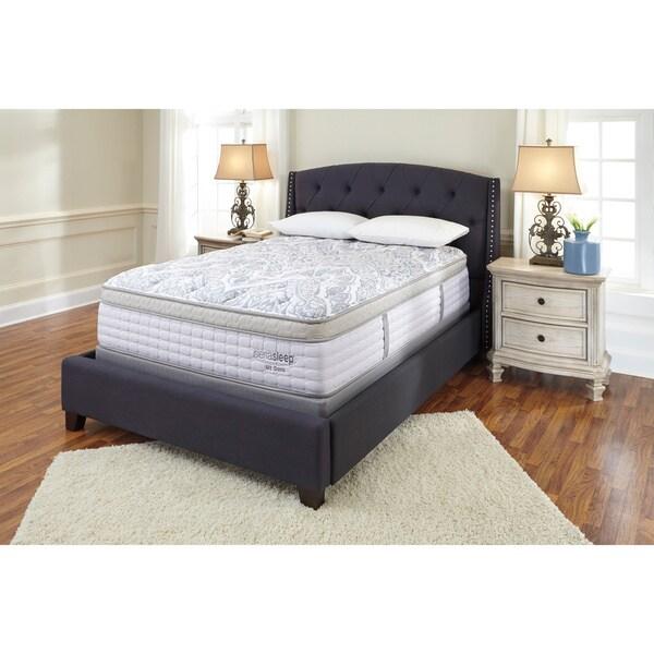 Sierra sleep by ashley mt dana euro top queen size mattress free