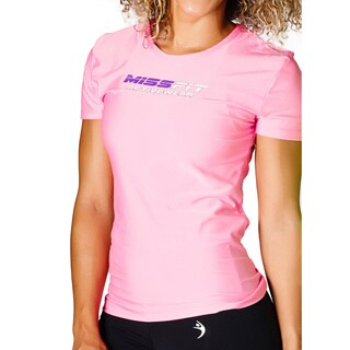 MissFit Activewear Pink Logo Athletic Top (3 options available)