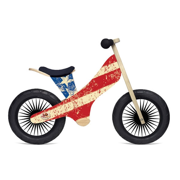 Kinderfeets Retro Design Wooden Balance Bike