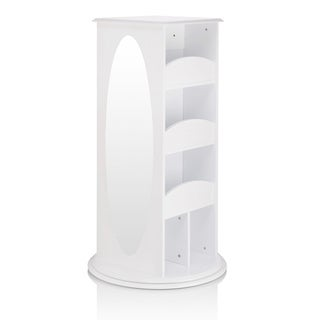 Guidecraft White Rotating Dress-up Storage Unit