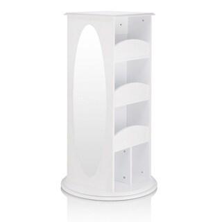 Guidecraft White Rotating Dress-up Storage Unit