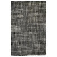 Kosas Home Handspun Hera Boucle Jute Grey Rug (8'x10') - 8'x10'