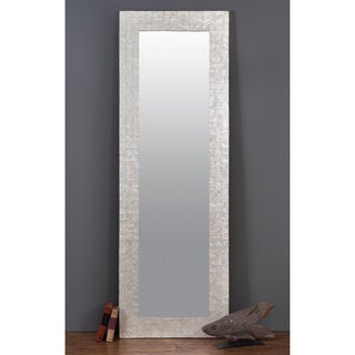 Albany Capiz Shell Accented Off-white Mirror