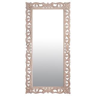 "Lafayette 78"" White Rectangular Accent Mirror"