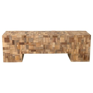 Mitchell Contemporary Brown Bench