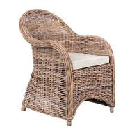 Snohomish Casual Tan Rattan Chair