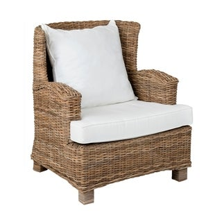 Paisley Casual Tan Textured Chair