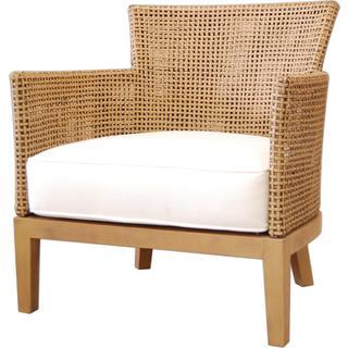 Gaston Contemporary Tan Textured Chair