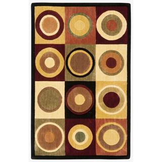 Nourison Parallels Multicolor Accent Rug (1'9 x 2'9)