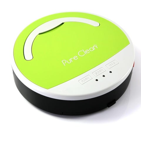 Pyle PUCRC15 Smart Robot Vacuum Cleaner Automatic Multi-Surface Floor Clean