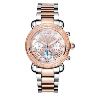 Victory Two-Tone Stainless Steel Women's Watch