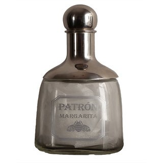 Patron Margarita Shaker Glass Mixer