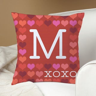 Robin Zingone Personalized XOXO Pillow (More options available)