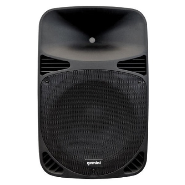 shop gemini hps15blu 15 inch class d usb bluetooth dj speaker free shipping today overstock. Black Bedroom Furniture Sets. Home Design Ideas