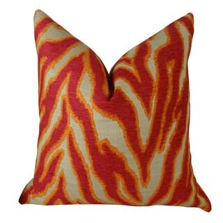 Plutus Smooth Move Fuchsia Handmade Double Sided Throw Pillow