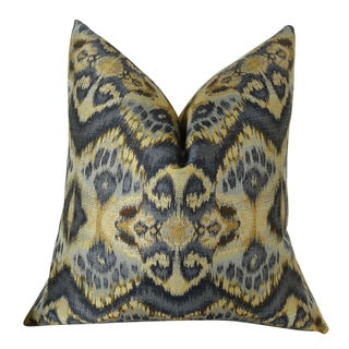 Plutus Rhythm Waves Handmade Double Sided Throw Pillow