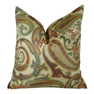 Plutus Paisley Cove Handmade Throw Pillow
