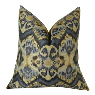 Plutus Rhythm Waves Handmade Throw Pillow