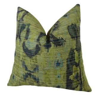 Plutus Designer Multicolor Bear Canyon Handmade Double-sided Throw Pillow