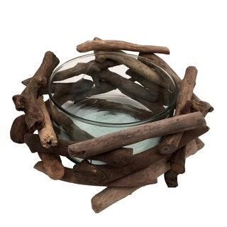 Driftwood Network Bowl Natural