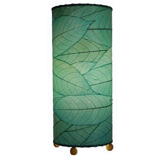 Handmade Eangee Cocoa Leaf Cylinder Lamp (Philippines) (4 options available)
