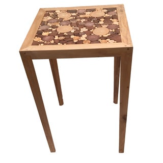 Wood Chips Mosaic Table
