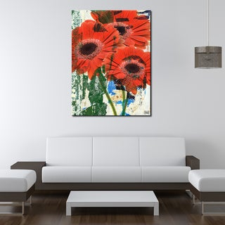 Ready2HangArt 'Painted Petals LXVII' Canvas Art